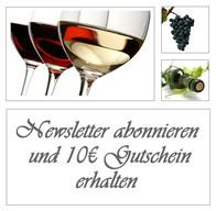 Newsletter abonnieren und 10€ Gutschein bekommen