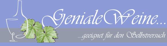 Geniale Weine Newsletter
